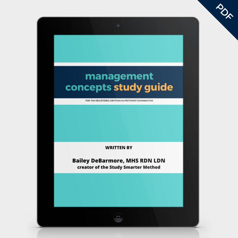 Management Concepts Study Guide