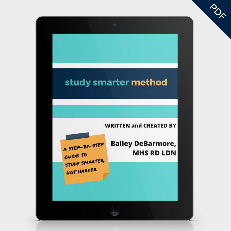Study Smarter Method E-Book